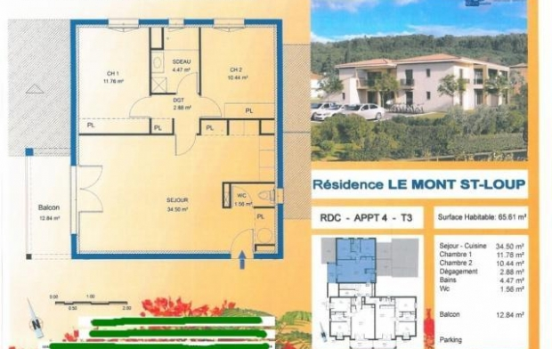 POLE SUD IMMOBILIER Appartement | AGDE (34300) | 66 m2 | 255 000 €